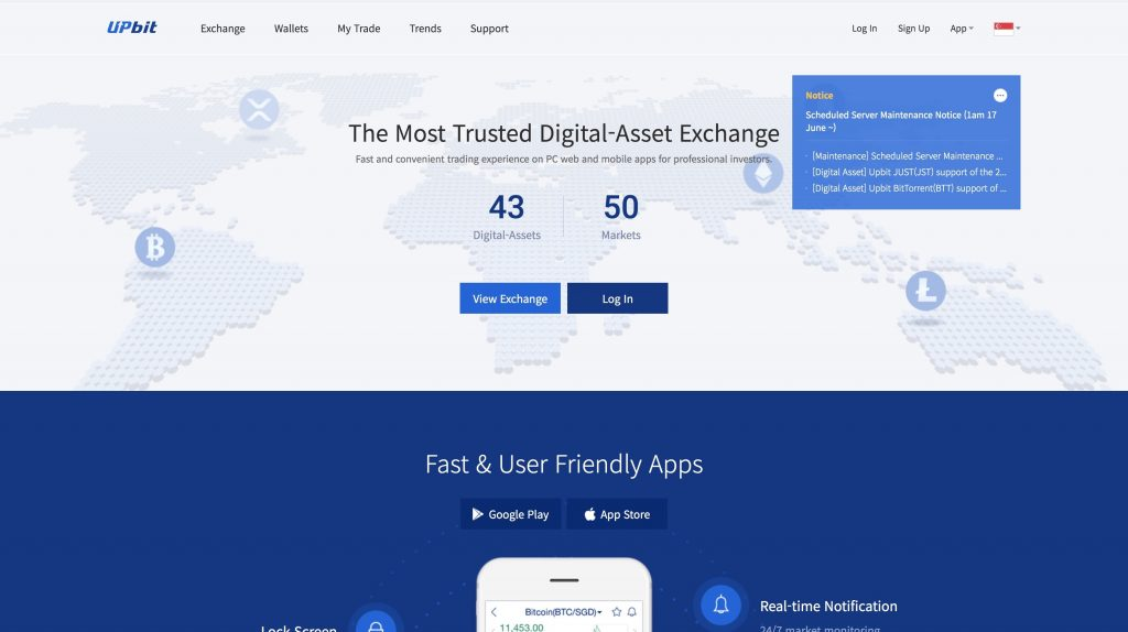 upbit cryptocurrency exchange